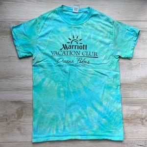 pre loved marriott vacation club t shirt tye dye